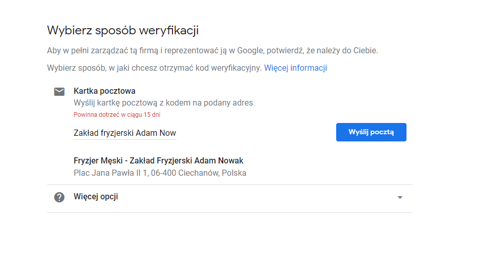 Jak dodać firmę do Google Moja Firma - darmowa wizytówka w Google Maps