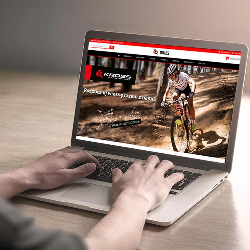 Nowa odsłona sklepu rowerowego PGBikes