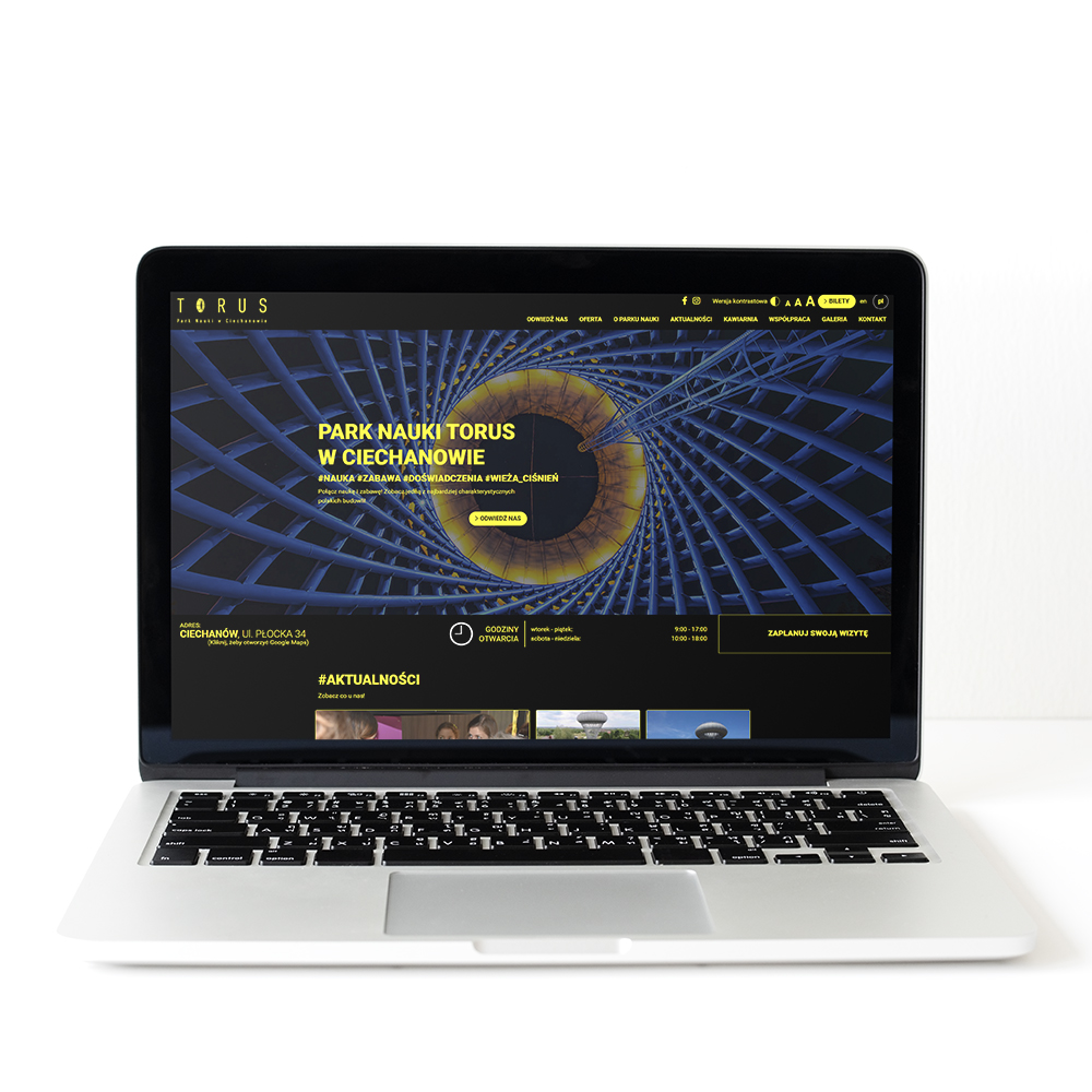 Nowoczesna Strona internetowa