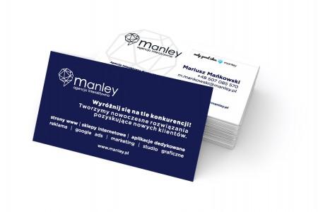 Manley wizytówka