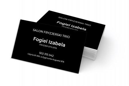 Wizytówki dla salonu fryzjerskiego